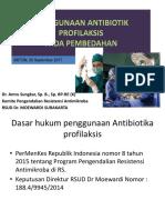 1. Materi Antibiotik Profilaksis final dr. amru 30092017 edit.pdf