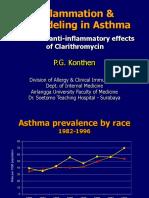 Asthma & Clarithromycin prof Koenthen