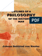 HERDER Outlines of a Philosophy of the History of Man