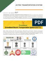 Growdiesel Electric Transportation System (GETS)