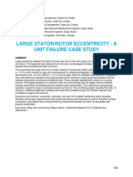 Large-Stator-Rotor-Eccentricity
