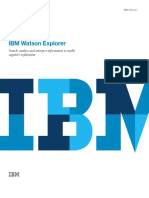 IBM Watson Explorer