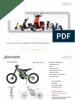 Oferta e-scutere 09.2019