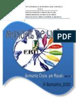 Manual de Lições Iº Semestre 2020_Janeiro a Julho