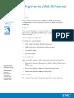 NonDisruptive Migration to VMAX All Flash and VMAX3 Course Description
