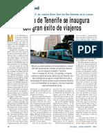 Tranvía en Tenerife