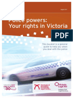 Police Powers -  Your rights in Victoria