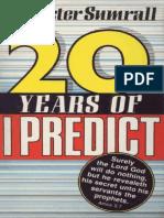 Twenty Years of I Predict - Lester Sumrall1