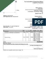book bill format- amazon