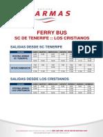 Tenerife HORARIOS_FERRY_BUS