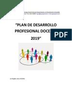articulo PLAN_DESARROLLO PROFESIONAL_DOCENTE_2019