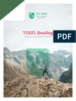 TST Prep - 100 TOEFL Reading Practice Questions