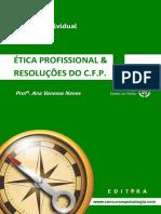 PDF - ÉTICA PROFISSIONAL & RESOLUÇÕES DO C.F.P