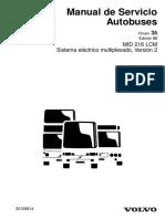 MID 216 LCM Sistema electrico Multiplexado