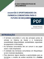Desafios e oportunidades _ Farmacias Comunitarias em Moçambique
