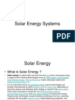 Chapter 6i - Solar Energy Systems