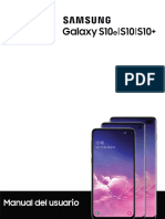 Manual Usuario Samsung S10