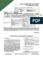LETERATURA LATINA y medieval - PARA  SEMANA DEL 14-16 D 04
