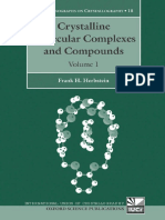 (International Union of Crystallography Monographs on Crystallography 18) Frank H. Herbstein - Crystalline Molecular Complexes and Compounds_ Structure and Principles 2 Volume Set (International Union(1)