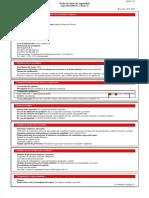 Ficha Seguridad CP601S