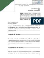 LP-Cas.-3565-2016-Ica PRESCRIPCION DE NULIDAD DE ACTO JURIDICO