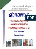 Projet guide pédagogique géotechnique - SYNTEC Ingénierie