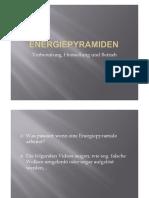 Energiepyramide Präsentation