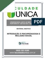 Material Didático - Introdução à Psicopedagogia e Inclusão Social