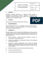 M-07 MANUAL DE FUNCIONES ASESOR FINANCIERO