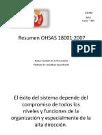 1 ° Resumen OHSAS 18.001