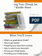 Publishing Your Ebook for the Kindle Store.pptx