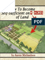 How to Create Your Own Self-Sufficient Farm on 4 Acres of Land