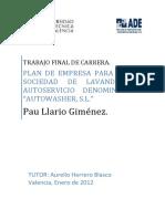 ESTUDIO DE VIABILIDAD TECNICA, FINANCIERA Y DE NEGOCIO DE UNA LAVANDERÍA.pdf