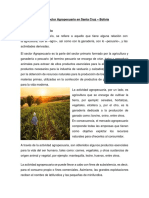 Importancia del sector agropecuario en Santa Cruz- Bolivia