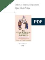 As Bodas Alquimicas de Christian Rosenkreutz - Johann Valentin Andreae