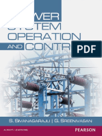 Power System Operation and Control by S. Sivanagaraju and Sreenivasan