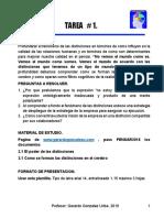 TAREA # 1 - PENSAMIENTO CRITICO - RAMON BUELVAS SIERRA - MBA - UTB - MONTERIA