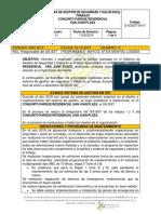 FT-SST-034 Formato Rendiciòn de Cuentas