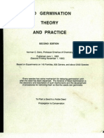 SEED GERMINATION THEORY AND PRACTICE; by Professor Norman C. Deno