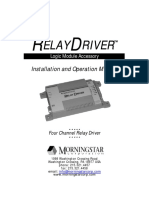 Relay Driver Manual