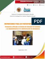 FORMULARIOS SCI Y SU IMPLEMENTACIÓN EN LA ADMINISTRACIÓN DE EMERGENCIAS. Fevesar