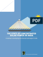 The State of Concentrated Solar Power (India)