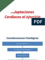 Adaptaciones Cardiacas Al Ejercicio Valeria Bottinelli