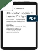 Alimentos segun el Nuevo Codigo. Claudio A. Belluscio. Con seleccion de texto.pdf