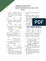 Apostila - Química - Exercícios