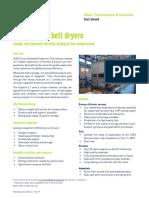 Evaporis LT belt dryers