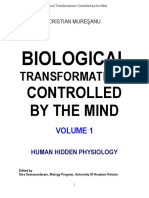 Biological Transformations Controlled By The Mind