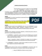 CONTRATO SFE S.A.- GRUPO ARMAS