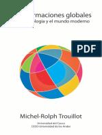 TROUILLOT-TRANSFORMACIONES GLOBALES