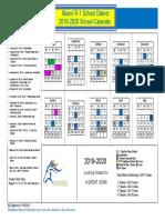 2019-2020 school calendar pdf